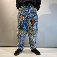 80s〜90s design chemical denim pants