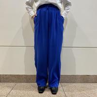 90s silk easy wide pants