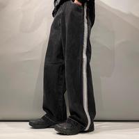 90s〜 side line design denim pants