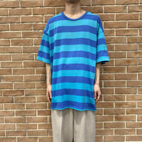 90s oversized striped T-shirt