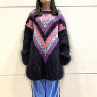 80s~ mohair knit sweater