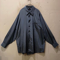 """DKNY"" shiny L/S shirt"