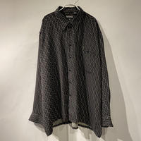 90s all patterned L/S shirt