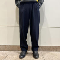 90s 2tucks slacks pants (BLK)