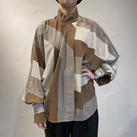 old volume sleeve design blouse