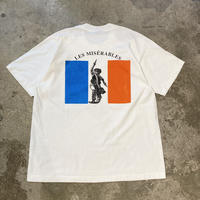 """90s """"LES MISERABLES"""" printed tee"""