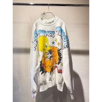 "90s ""SPACE JAM"" Tweety bird printed sweat shirt"