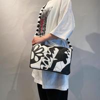 80s design leather bag