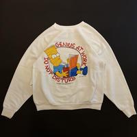 "90s ""THE SIMPSONs"" sweat shirt"