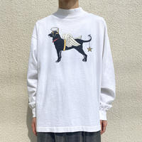 "90s~ ""The Black Dog"" L/S tee"