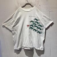 80s〜 thrill ski printed T-shirt