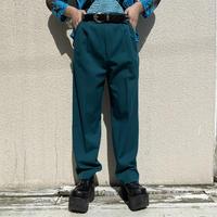 80s 3tucks slacks pants (GRN)