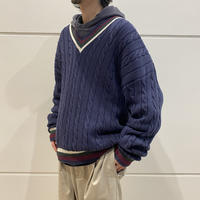90s tilden knit sweater