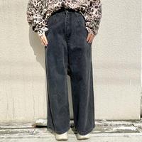 90s Extra wide denim pants