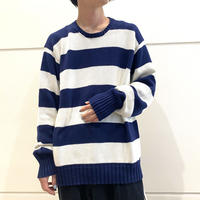 """90s~ """"Polo by Ralph Lauren"""" striped cotton knit"""