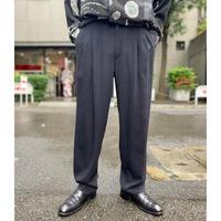 80s two tuck slacks pants