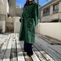 old fake suede  long coat