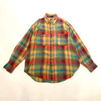 """CHAPS RALPH LAUREN"" shadow checked flannel shirt"