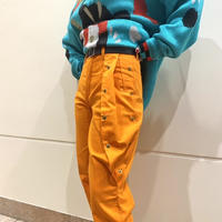 80s~ design tapered pants