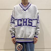 90s~ design sweat shirt