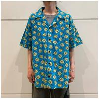 "2001s ""SpongeBob"" S/S pattern shirt"