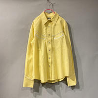 pastel color Western shirt