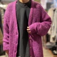 90s mohair knit cardigan