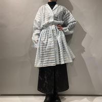old see-through design shirt dress