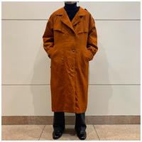 80s poly design trench coat