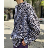 """CHAPS"" leopard patterned L/S shirt"
