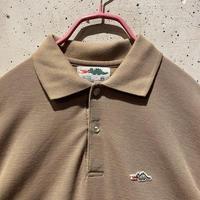 """70s """"Sears"""" polo shirt(BRW)"""