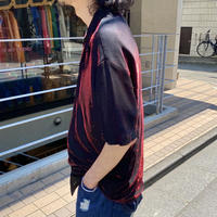 90s S/S shiny mesh shirt