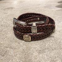 BRIGHTON braided belt