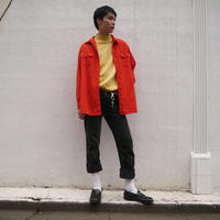 vivid color L/S shirt