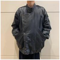 80s design leather jacket