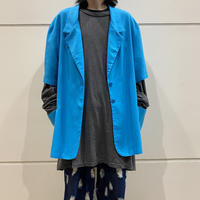 90s~ S/S tailored jacket (TRQ)
