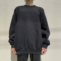 3X oversized plain sweat shirt (BLK)