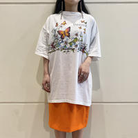 oversized butterfly printed tee