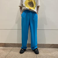 90s~ silk easy pants