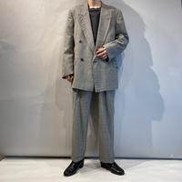 80s〜90s checked set up suits