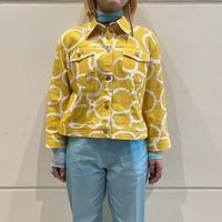 90s all patterned trucker jacket