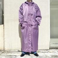 """80s~ """"LAPARKA"""" shiny long coat"""
