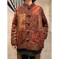 """""""WHITE STAG"""" china design gobelin jacket(L)"""