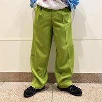 90s 2tucks wide slacks pants