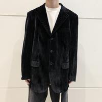 90s〜velours tailored jacket