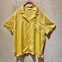 dots pattern overized pajamas shirt