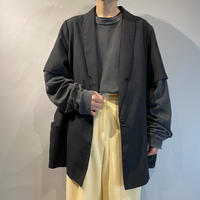 90s〜oversized s/s tailored jacket
