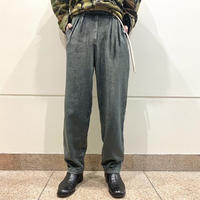 two tacked corduroy slacks pants