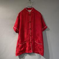 S/S shiny China shirt
