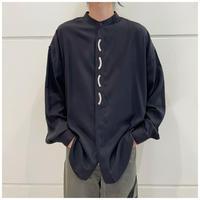 90s rayon blend design shirt